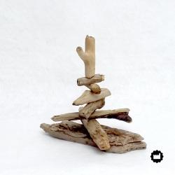 Petit arbre en bois flotté