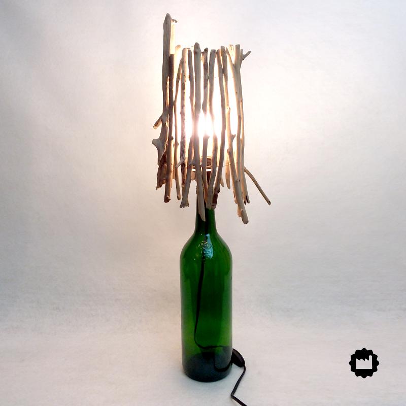 Lampe de chevet bouteille Pernod